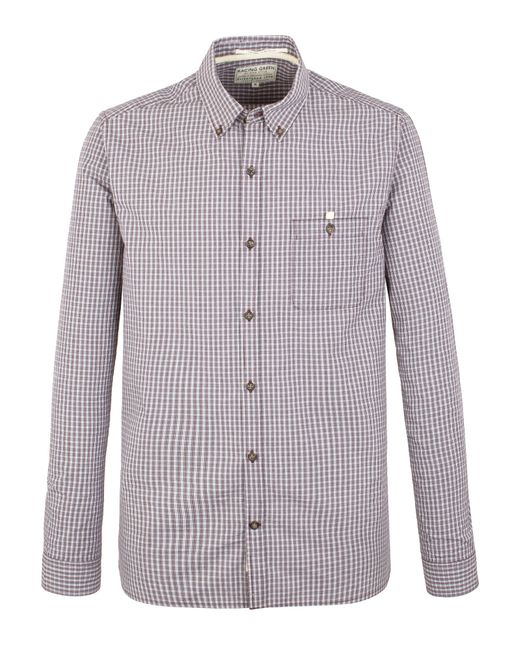 Racing Green | Purple Newton Small Check Shirt for Men | Lyst