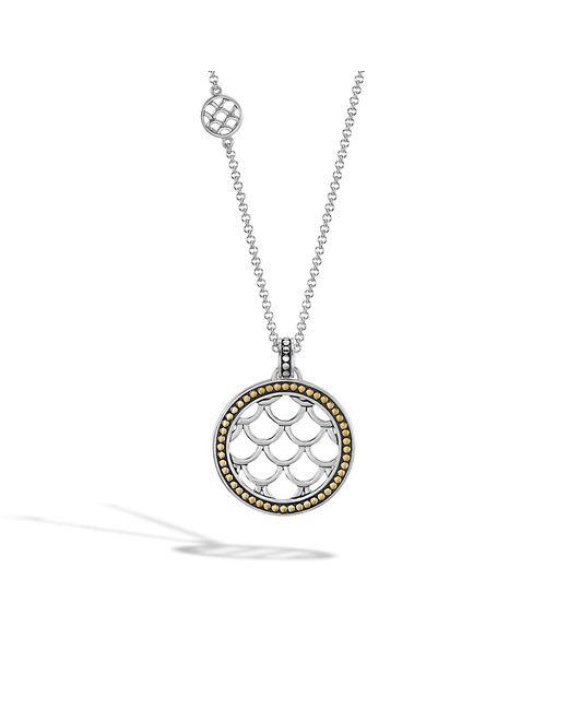 John Hardy   Metallic Naga Pendant Necklace   Lyst