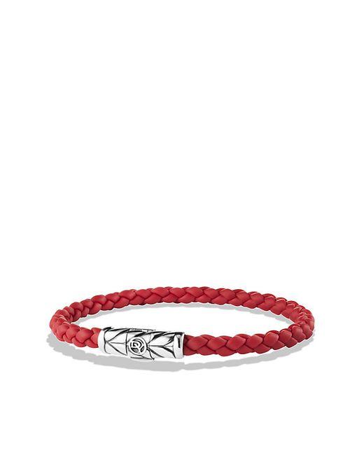 David Yurman   Chevron Bracelet In Red for Men   Lyst