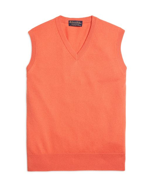 Brooks Brothers | Pink Cashmere Sweater Vest for Men | Lyst