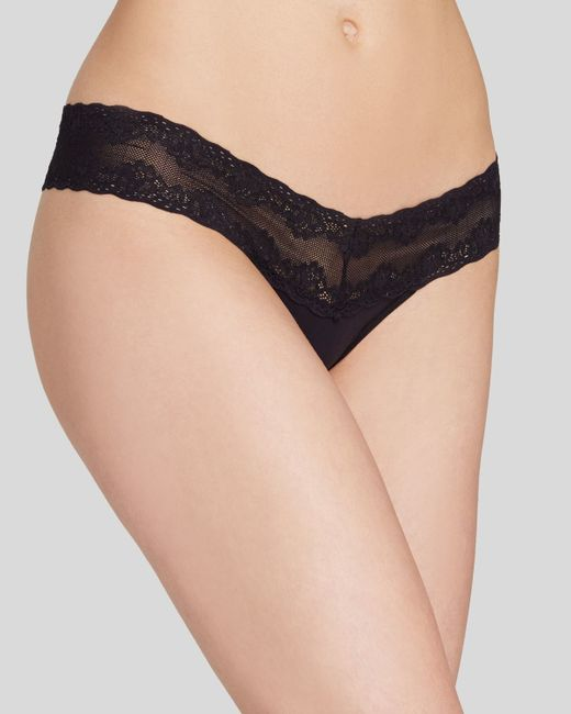 Natori | Black Thong - Bliss Perfection #750092 | Lyst