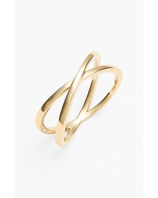 Bony Levy | Yellow Crossover Open Ring (nordstrom Exclusive) | Lyst