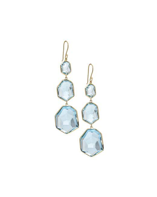 Ippolita | Blue 18k Modern Rock Candy Dangle & Drop Earrings | Lyst
