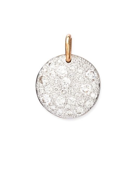 Pomellato | Metallic Sabbia 18k Rose Gold Diamond Pendant Charm | Lyst