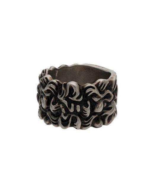 Gucci - Metallic Lion Head 15mm Ring for Men - Lyst