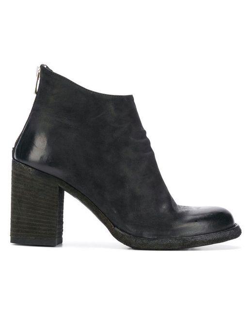 4e09f273544 Women's Ocdvern008verti1000 Black Leather/fur/exotic Skins->leather