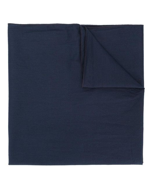 Engineered Garments - Blue Rolled Edge Scarf for Men - Lyst