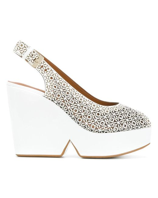 cheap sale store Clergerie Dyser sling-back wedges discount for nice cheap sale enjoy shop offer sale online BU0Lugq