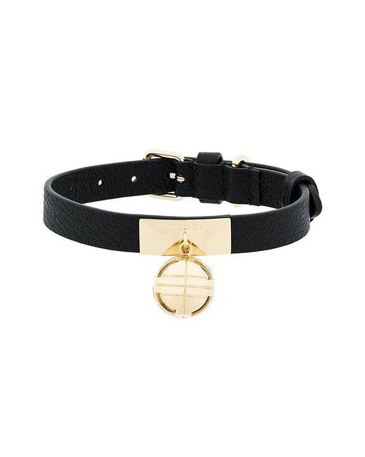 Givenchy - Black Orb Charm Collar - Lyst
