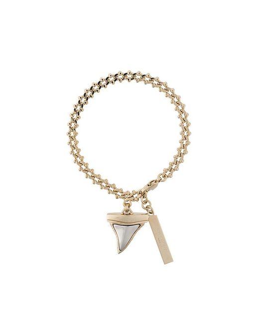 Givenchy | Metallic Shark Tooth Bracelet | Lyst