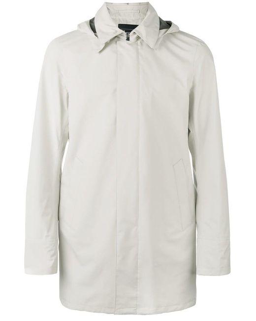 Herno - Multicolor Hooded Raincoat for Men - Lyst