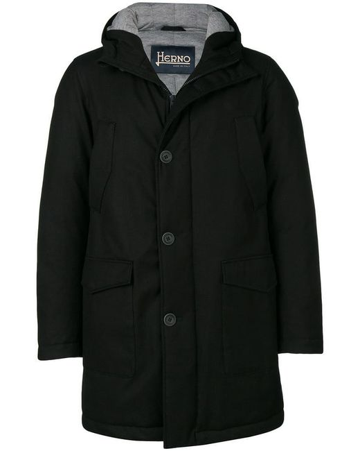 Herno - Black Sub-zero Parka Coat for Men - Lyst