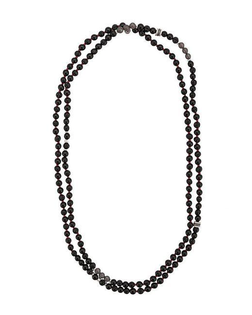 4e129751e8dc Lyst - Collar con cuentas Tateossian de hombre de color Negro