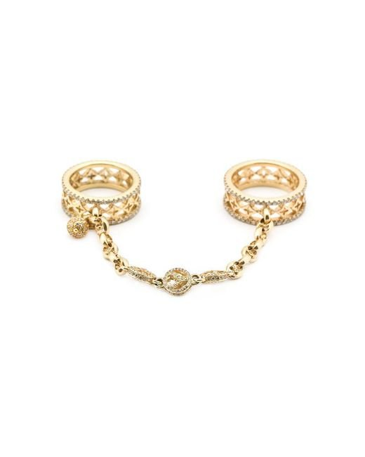 Loree Rodkin | Metallic Handcuff Ring | Lyst