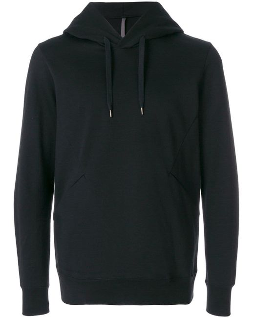 Attachment - Black Classic Sporty Hoodie for Men - Lyst