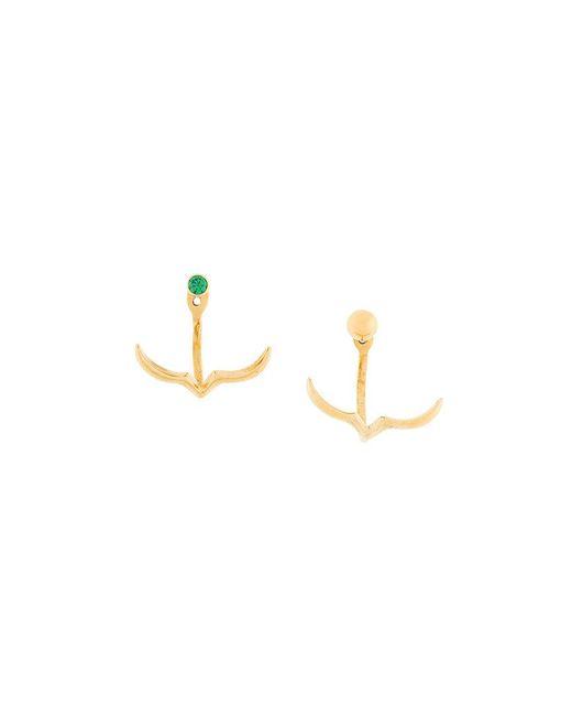 Niomo | Metallic Tagua Earring | Lyst