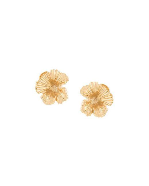 Meadowlark - Metallic Large Coral Earrings - Lyst