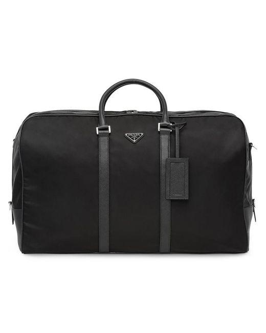 dc19031dc425 Prada - Black Shell Duffle Bag for Men - Lyst ...