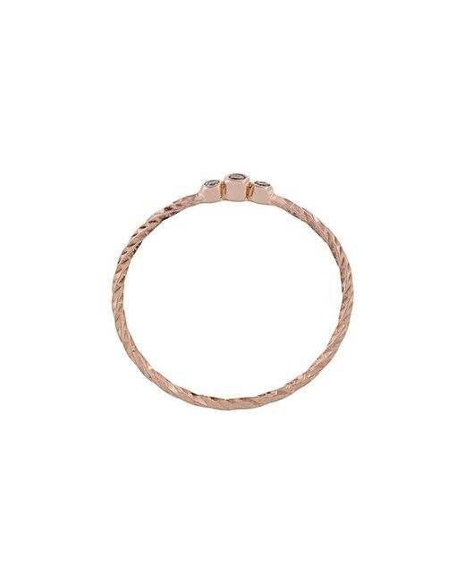 Maria Black - Metallic Diamond Cut Jessa Ring - Lyst