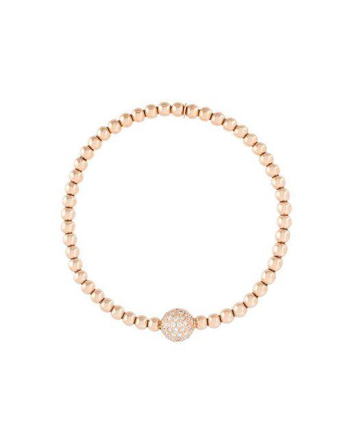 Monan | Metallic Diamond Ball Beaded Bracelet | Lyst