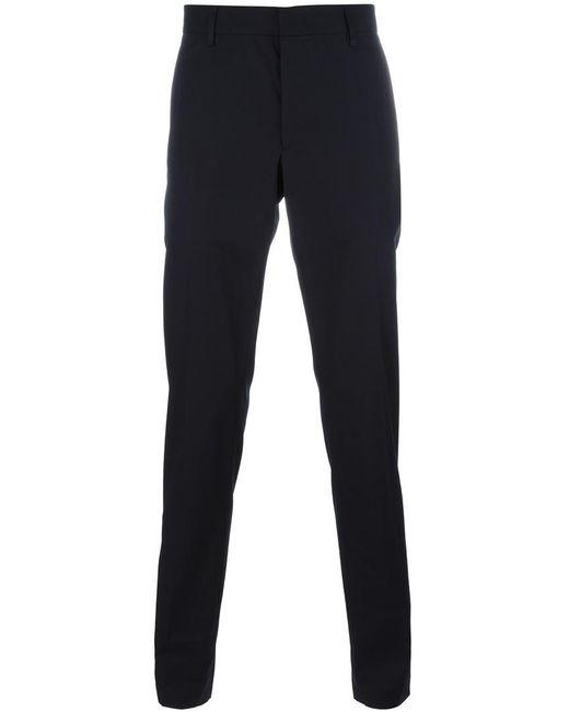 Lanvin | Blue Tailored Slim Fit Trousers for Men | Lyst