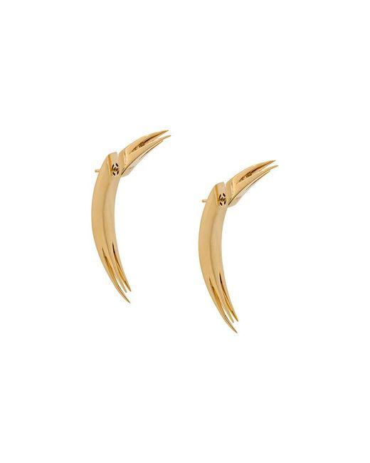 Kasun - Metallic Stick Earrings - Lyst