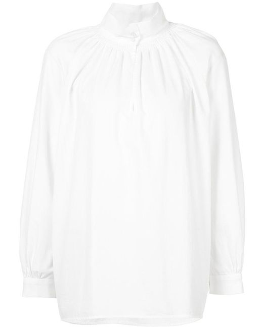 Vilshenko | White Gathered Shirt | Lyst