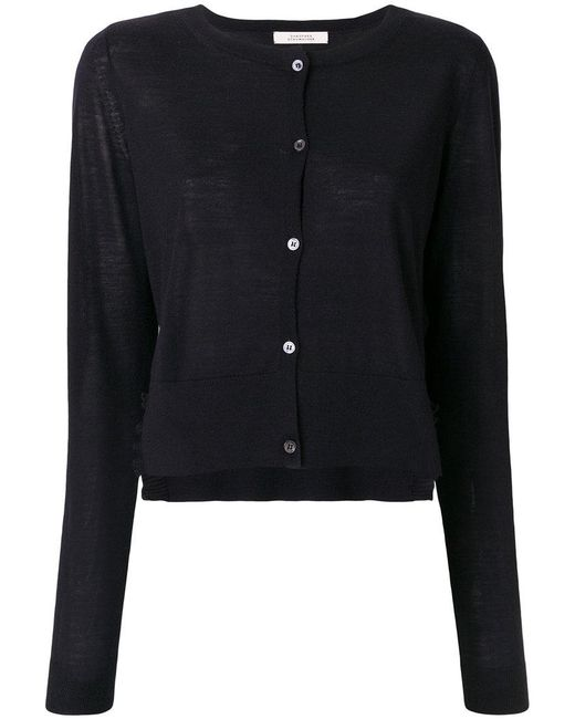 Dorothee Schumacher - Blue Couture To Go Cardigan V-neck 1/1 - Lyst