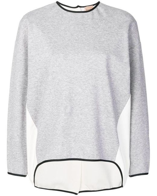 Nude - Gray Oversized Jumper - Lyst