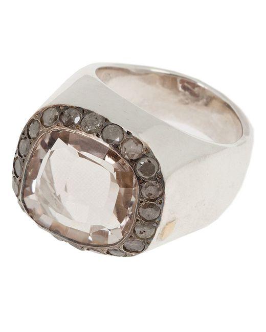Rosa Maria   Metallic 'jira' Ring   Lyst