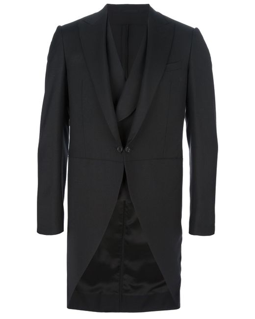 Lanvin | Black Three Piece Morning Suit for Men | Lyst