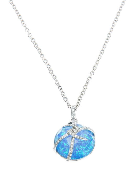 Stephen Webster | Blue 'forget Me Knot' Bubble Pendant | Lyst