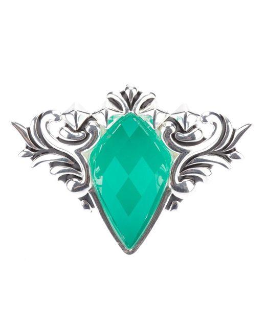 Stephen Webster | Metallic 'superstud' Baroque Spike Crystal Haze Ring | Lyst