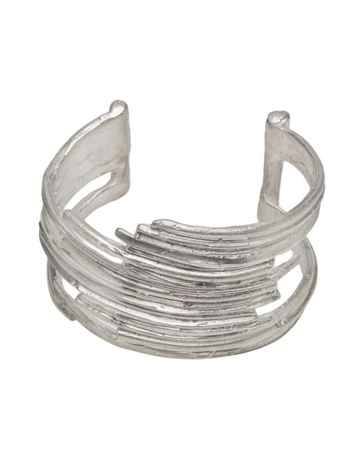 1-100 | Metallic Cut Out Cuff | Lyst