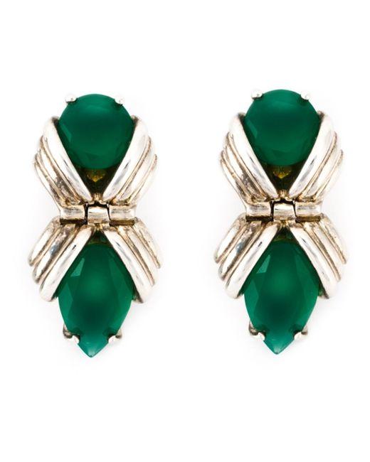 Shaun Leane   'bound' Green Onyx Earrings   Lyst