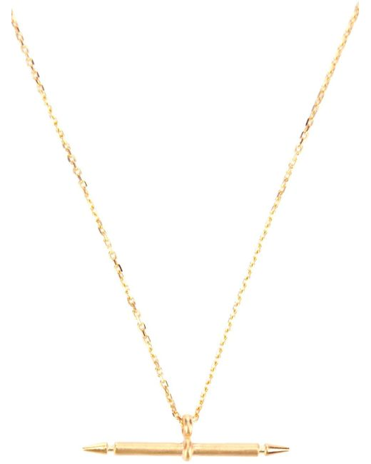 Maria Black | Metallic 'spear' Necklace | Lyst