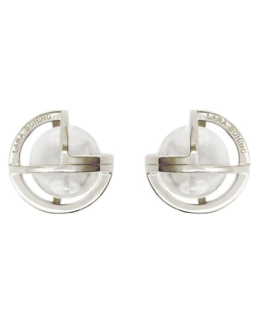 Lara Bohinc | Metallic 'planetaria' Stud Earrings | Lyst
