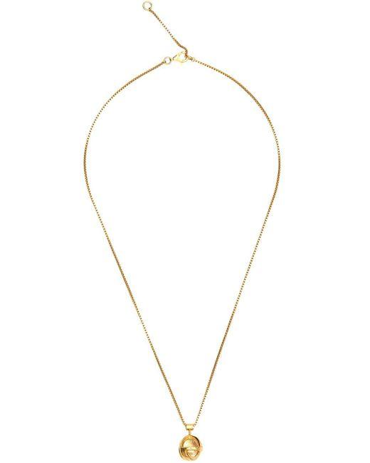 Lara Bohinc | Metallic 'planetaria' Small Pendant Necklace | Lyst