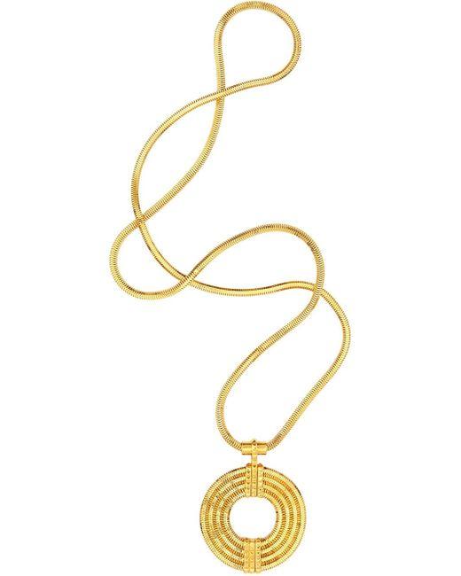 Lara Bohinc | Yellow 'apollo' Long Necklace | Lyst