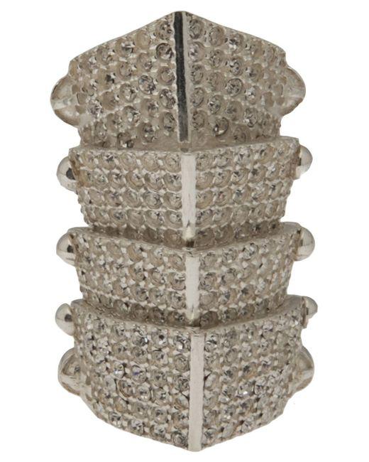 Vivienne Westwood | Metallic Hinged Armor Ring | Lyst