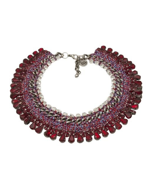 Venessa Arizaga | Metallic 'sangria Sunrise' Necklace | Lyst