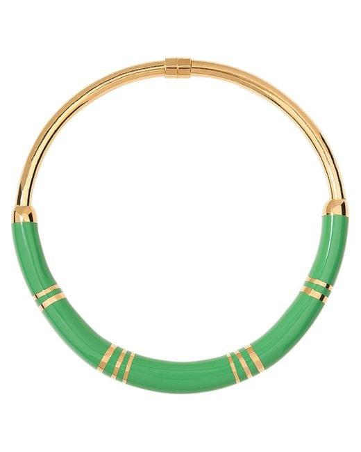 Aurelie Bidermann | Green 'positano' Necklace | Lyst