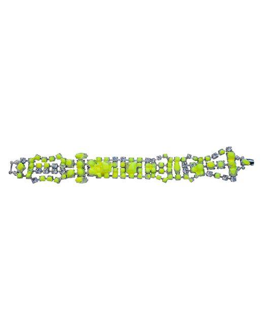 Tom Binns | Green 'splash Out' Crystal Bracelet | Lyst