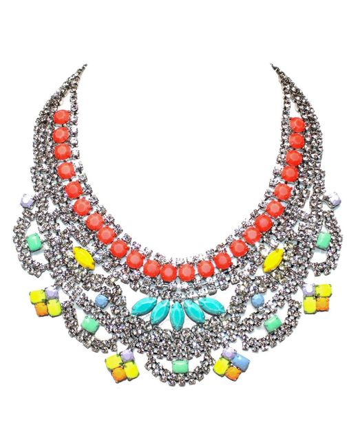 Tom Binns | Multicolor 'soft Power' Bib Necklace | Lyst