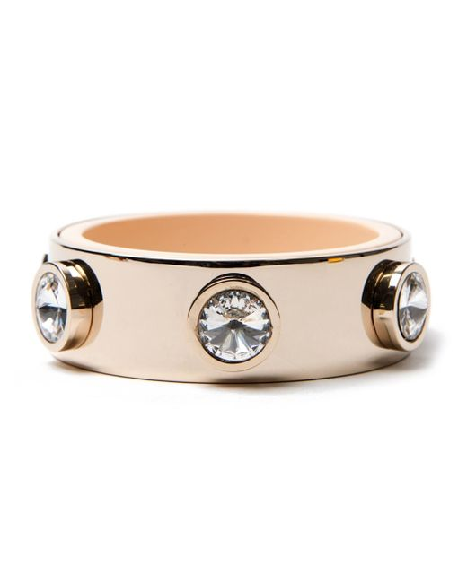 Givenchy | Metallic Jewelled Bangle | Lyst