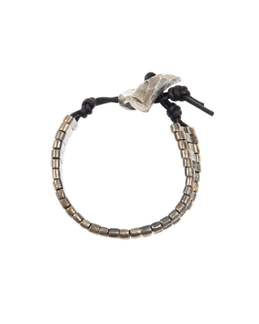 Tobias Wistisen | Metallic Tusk Bracelet for Men | Lyst