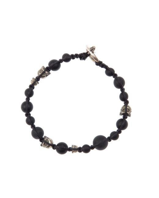 Tobias Wistisen | Black Skull Bracelet for Men | Lyst