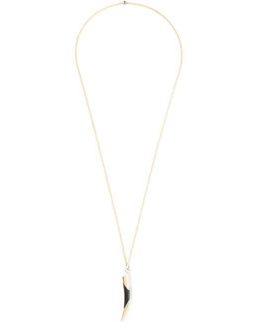 Maiyet | Black Horn Tip Necklace | Lyst