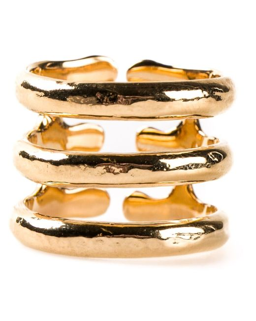 Aurelie Bidermann | Metallic 'esteban' Ring | Lyst