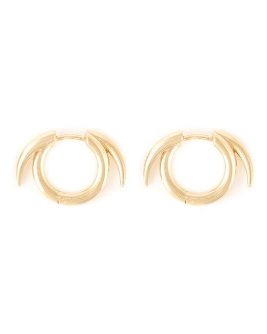 Shaun Leane | Metallic Thorned Hoop Earrings | Lyst
